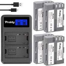 EN EL3e bateria + carregador lcd para nikon d50 d70 d80 d90 d100 d200 d300s d700
