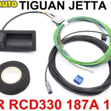 2-Radio Trunk-Handle Low-Camera RCD330 TIGUAN Vw Jetta 187B FOR MK6 KIT MIB 187A