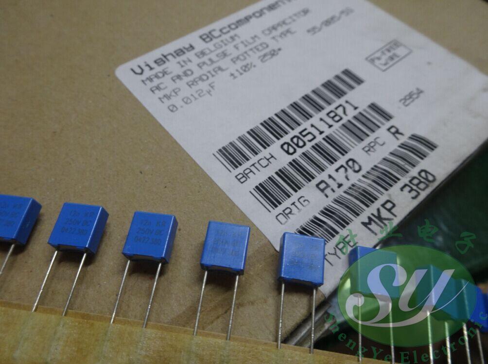 2019 hot sale 20PCS/50PCS VISHAY BC MKP380 material 0.012uf/250v 12nf 123 new film capacitor 5mm free shipping2019 hot sale 20PCS/50PCS VISHAY BC MKP380 material 0.012uf/250v 12nf 123 new film capacitor 5mm free shipping