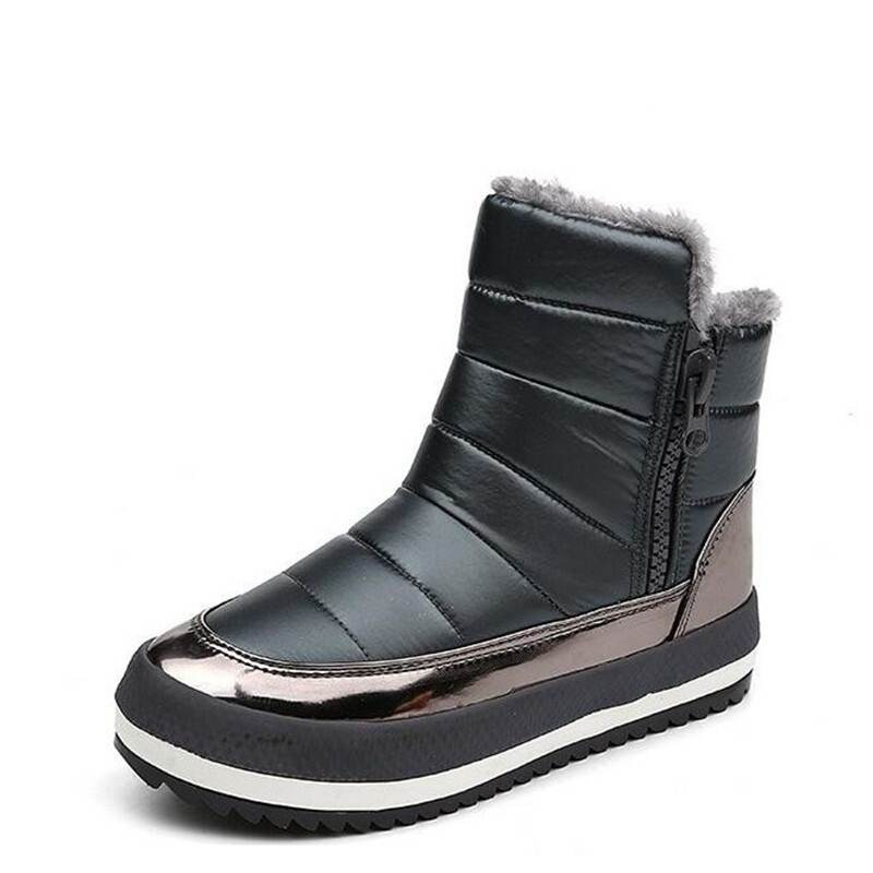 Women Boots Shoes Woman Winter Shoes 2018 Warm Women's Winter Boots Ankle snow boots Botas Waterproof Black zapatos mujer timetang women boots shoes woman botas mujer 2018 women s winter shoes woman warm winter snow boots ankle waterproof winter c081