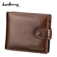 Men Small 100 Genuine Leather Coins Wallet Male 2015 Dollar Price Luxury Brand Short Hasp Cowhide