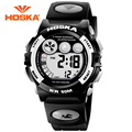 HOSKA Students Electronic Watch Men Watch Waterproof Outdoor Sports And Leisure Versatile Luminous Watches Small