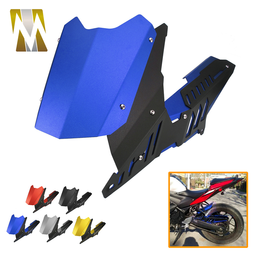 MT03 2016 2017 2015 Rear Fender for <font><b>Yamaha</b></font> YZF R3 <font><b>R25</b></font> 2013-2017 Rear Fender Mudguard & Chain Guard Cover for <font><b>Yamaha</b></font> <font><b>R25</b></font> <font><b>2019</b></font> image