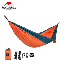 Naturehike Double Portable Camping Tree Hammock Lightweight Backyard Parachute Garden For Outdoor Activities