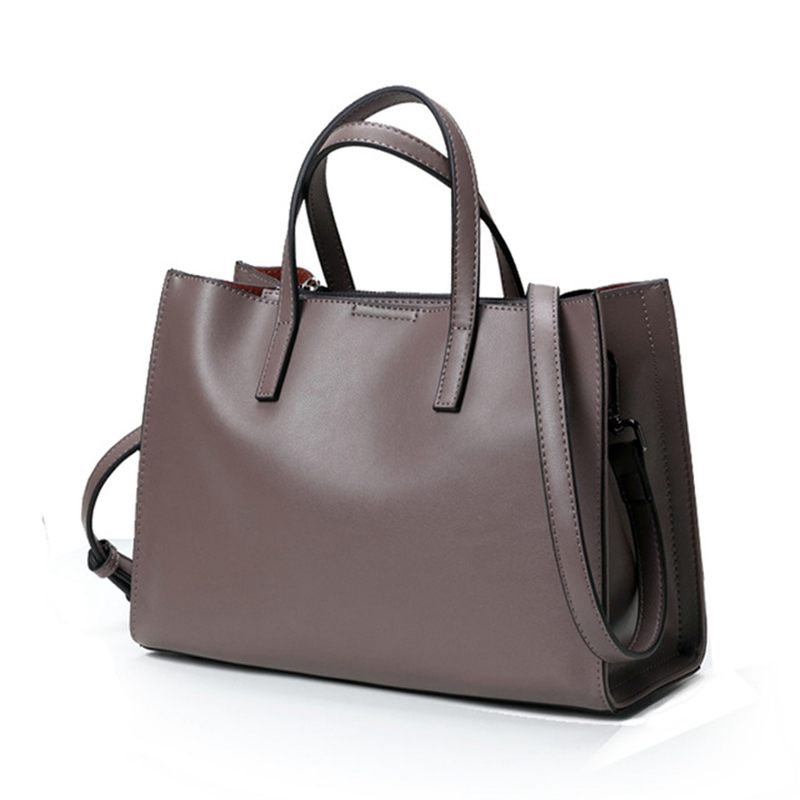 HerMerce 10 Color Tote Bag Genuine Leather Bag Female Handbag Women Leather Handbags Shoulder Bags For Women 2018 bolsa feminina ludesnoble woman bags 2016 bag handbag fashion handbags summer genuine leather bag female shoulder bags women bolsa feminina