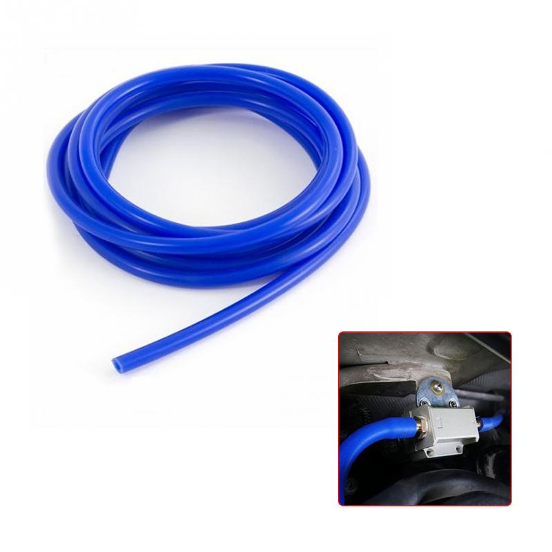 3mm/4mm/5mm/6mm/7mm/8mm/9mm Gardening irrigation Hose Silicon Vacuum Hose Tubing Blue Water Air Tube Hose Gardening supplies image