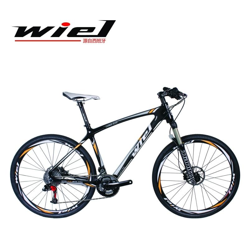 WIEL SEVEN 20 Speed Carbon Fiber MTB Mountain 27.5 Bike  Ultralight  Bicycle Cycle SRAM X9 Derailleur System MANITOU-27.5 FORK