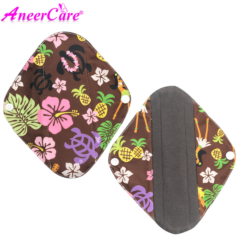 122b120e7536 Detail Feedback Questions about 1pcs reusable pads cloth bamboo wasbaar  maandverband women pads absorvente menstrual padded panties sanitary napkin  towel on ...