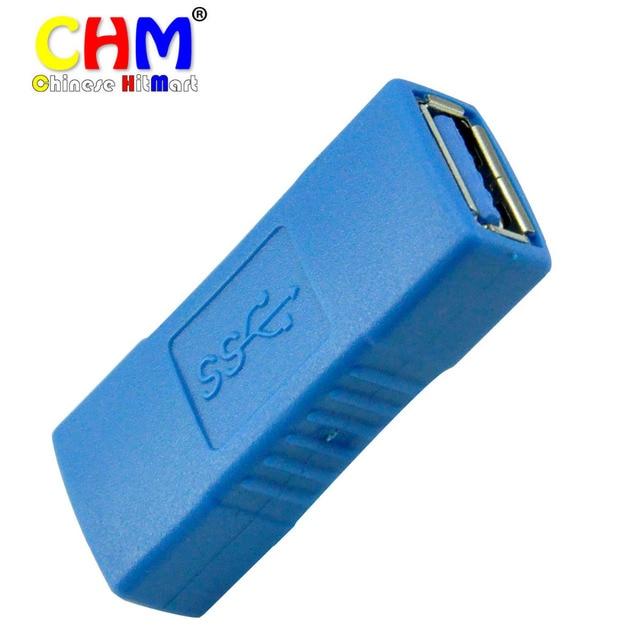 2X haute vitesse USB 3.0 Type A femelle à femelle F / F branchez Converter adaptateur connecteur livraison gratuite