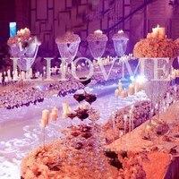 80 см высокий хрустальный Акриловые свадьбы центральным/кристалл свадебный торт стенд/Acryli цветок стенд/свадьбы столб Украшение стола