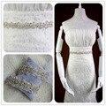 XW18 Dana handmade wedding accessories wholesale handmade Rhinestone Belt bride wedding dress belt