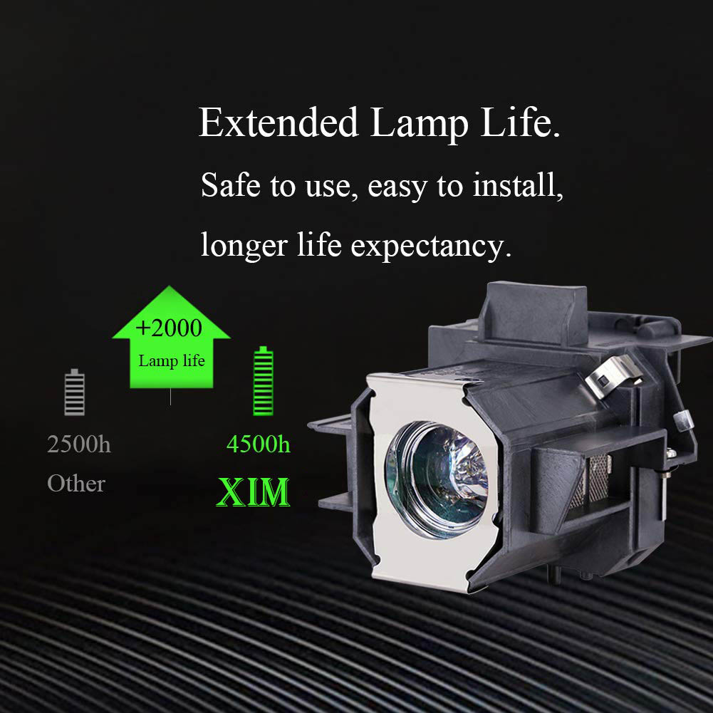 ABITAN ELP-LP39//V13H010L39 Replacement Projector Lamp for ELPLP39 for EMP-TW1000 EMP-TW2000 EMP-TW700 EMP-TW980 Home Cinema 1080 Projector with Housing