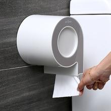 Водонепроницаемый держатель для туалетной бумаги для ванной комнаты, настенные пластиковые тканевые стойки, Клейкая Бумажная стойка для хранения, коробка для салфеток, украшение для дома