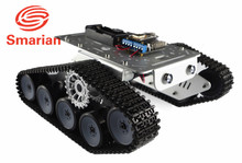 Official smarian TP300 Metal Crawler Tank chassis Robot Car Model Android Apple Mobile Phone Remote Control with free Source C