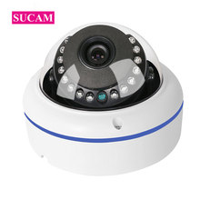SUCAM 720P 1080P Mini AHD Dome Camera 2.8mm 3.6mm Lens IR Cut filter Infrared Home Security Camera 20M Night Vision