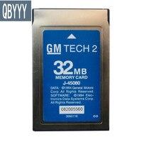 QBYYY Tech2 memory card Vetronix tech2 software GMtech 2 32mb card for ISUZU, for suzuki, opel, saab, holden, GMcard