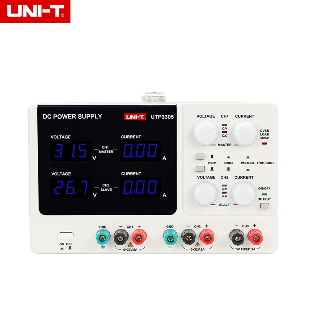 UNI T UTP3305 DC 32 V Мощность точности переменной регулируемое питание цифровой Регулируемый коммутации Мощность мобильный телефон для ноутбука р