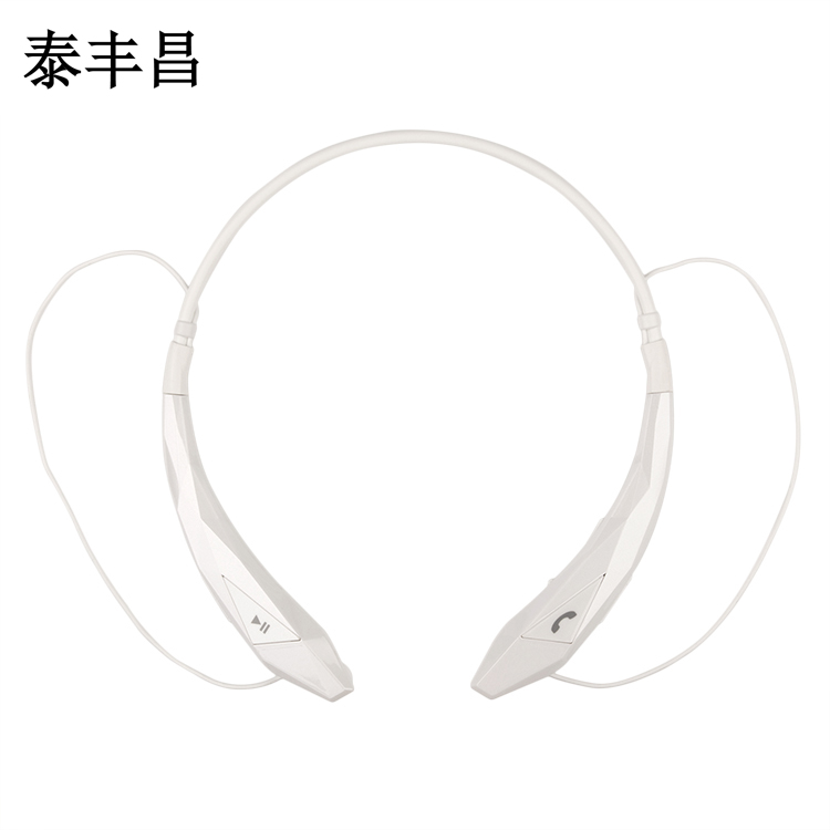 Sport wireless Bluetooth headset iphone7 neck hanging type 4 Music running stereo anti sweat universal  wireless music bluetooth headset 4 mini head wear sport ear hanging ear type 4 1 universal running stereo can insert card radio
