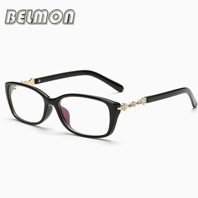 Eyeglasses Frame Women Computer Optical Eye Glasses Spectacle Frame For Women S Transparent Lens Female Armacao