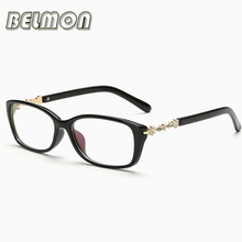 Eyeglasses Frame Women Computer Optical Eye Glasses Spectacle Frame For Women's Transparent Lens Female Armacao Oculos de RS064