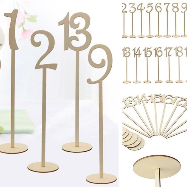 Pcsset Wedding Birthday Table Number Wedding Cards Table - Table numbers restaurant supplies