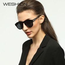 7cce4fa87c895f WESHION Round Sunglasses Women Polarized Oval Small Size Ladies Driving Sun  Glasses 2018 New Lunettes De Soleil Pour Femmes