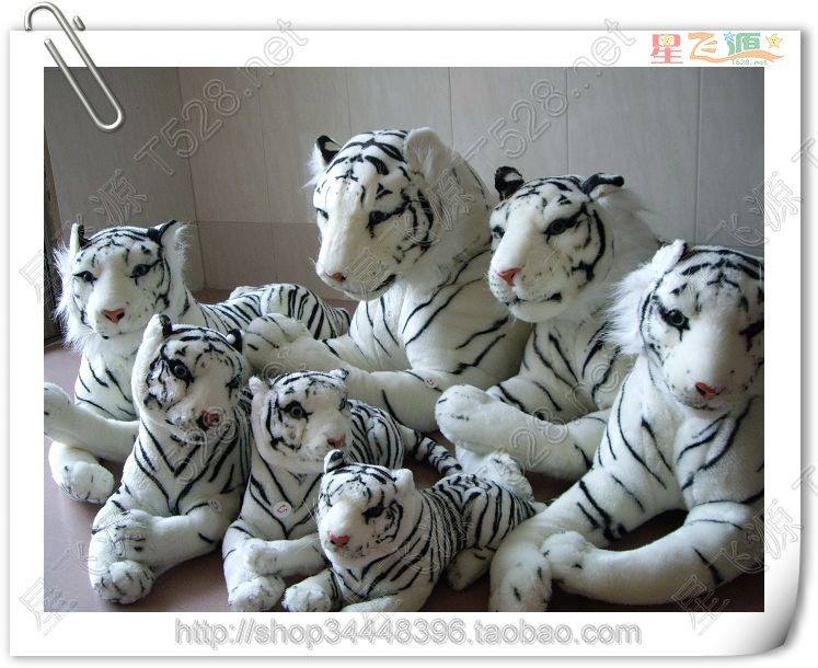 stuffed animal 105cm lying white tiger plush toy doll gift k0604 stuffed animal 110cm plush tiger toy about 43 inch simulation tiger doll great gift free shipping w018