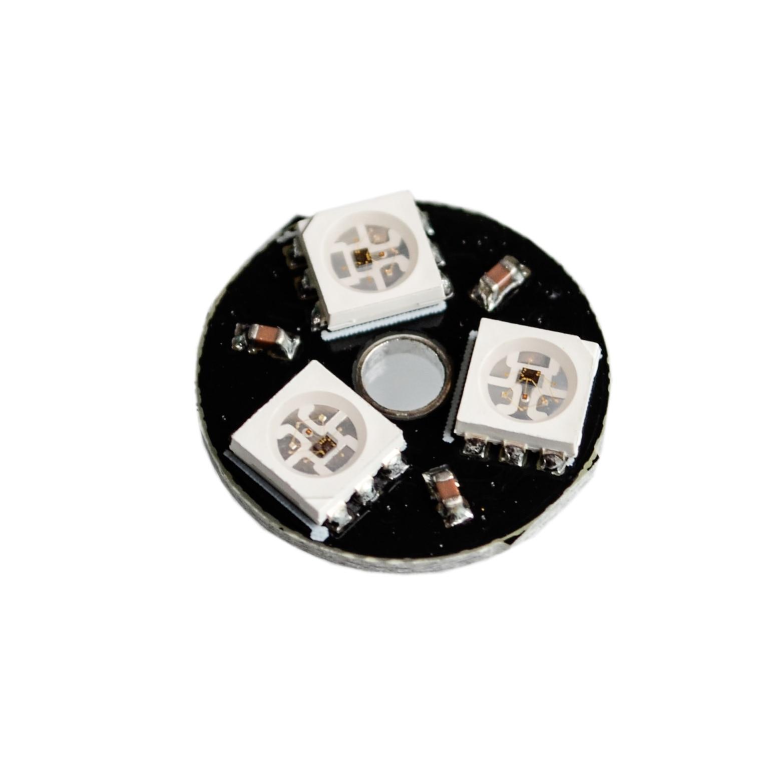 Integrated Circuits Active Components 1pcs X Ws2812b 5050 Rgb Led Full Color Driver 25-bit Lantern Development Board Evident Effect