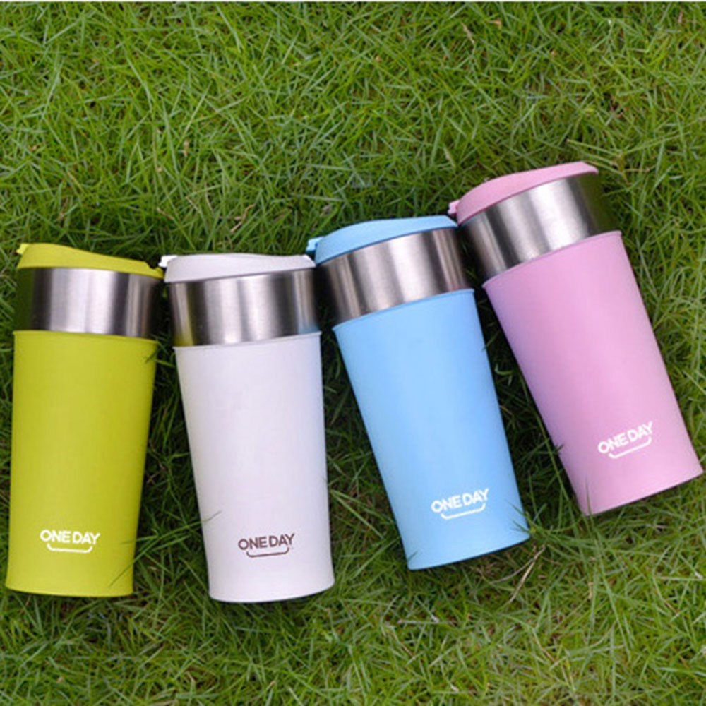 Coffee Thermo Mug With Cups 400ml Heating Insulated Thermo Mugs Auto Car Healthy Double Wall Stainless