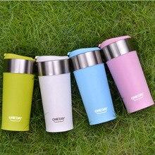 Kaffee Thermobecher Mit Tassen 400 ml Heizung Isolierte Thermo Becher Auto Auto Gesunde Doppelwand Aus Edelstahl Tasse KC1221