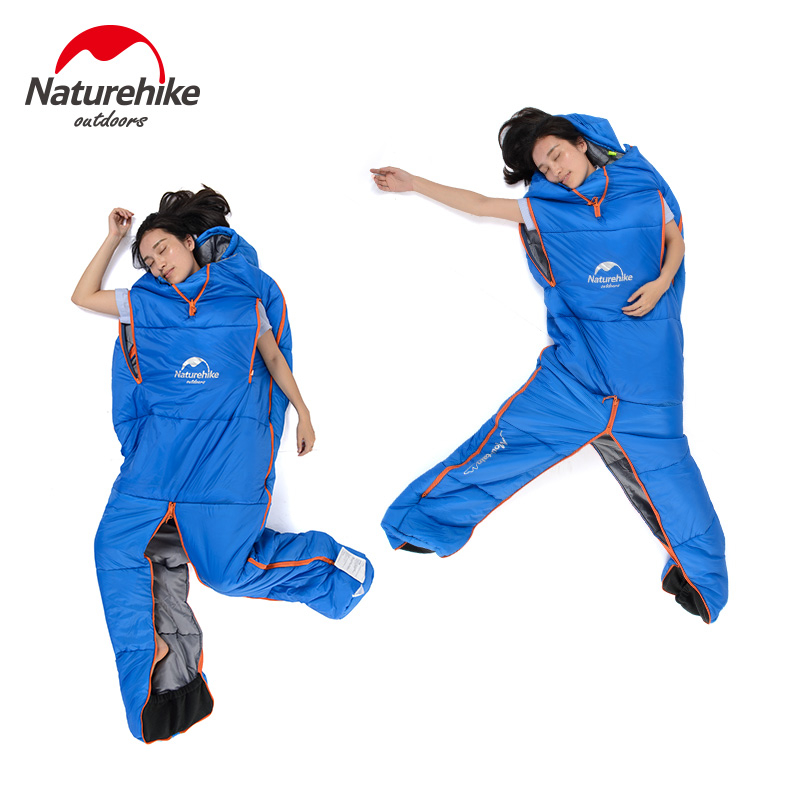 5-10 Degree Naturehike Outdoor Camping Body Suit Sleeping Bag Adult Cotton Sleeping Bags NH16R200-X