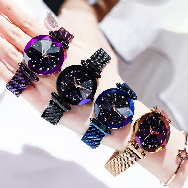 Women Watches 2019 Luxury Brand Crystal Fashion Dress Woman Watches Clock Quartz Ladies Wrist Watches For Women Relogio Feminino