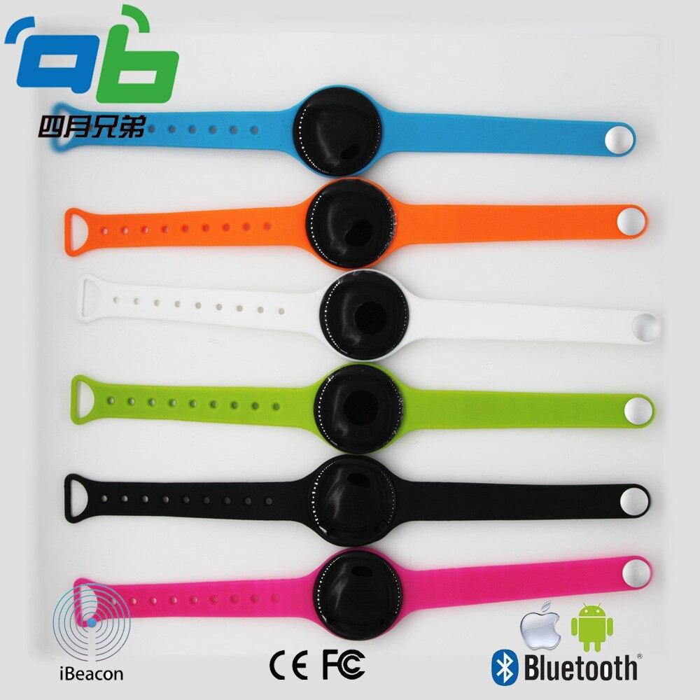 50 pcs wearable pulseira ibeacon para proteção de crianças