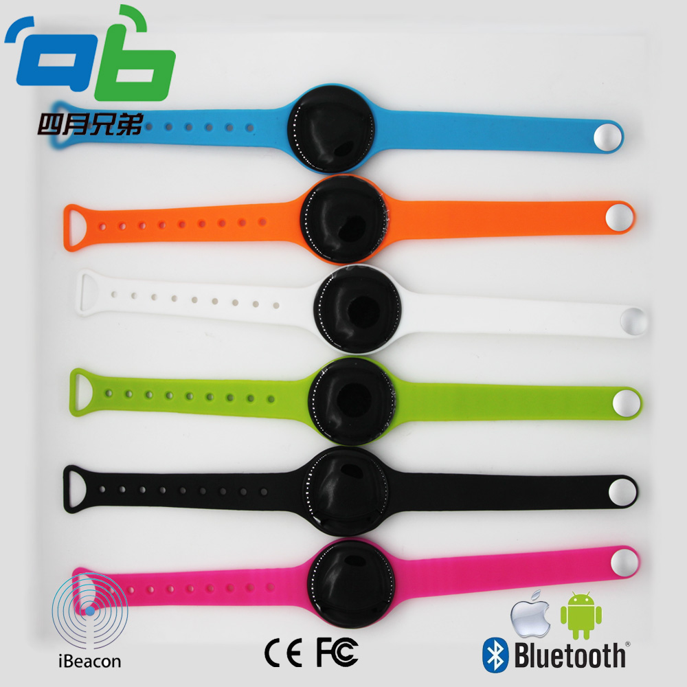 50pcs Wearable Bracelet Ibeacon For Kids Protection