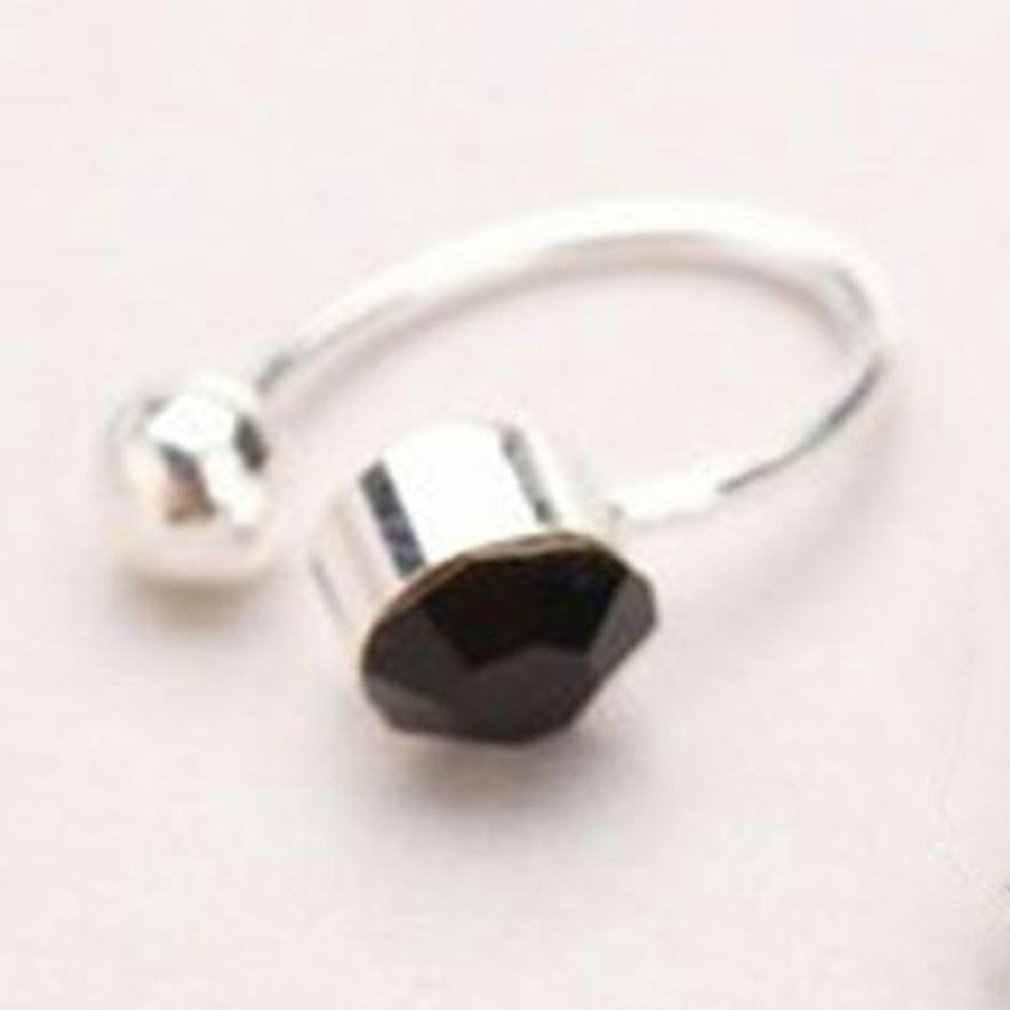 Brincos personalizados em forma de u sem piercings de orelha clipe de ouvido strass único feminino clipe no cabide jóias do corpo