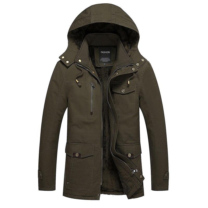 2017 Double poches hommes printemps hiver Trench manteau mode hommes Parka mince manteau de haute qualité hommes Slim veste