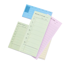 Day Week Month Detailed List Planner Memo Pad 30 Sheets To Do N Times Sticky Note Office School Plan Supply