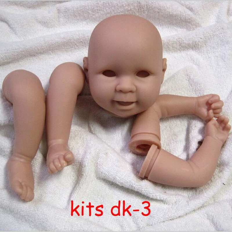 ФОТО Reborn Doll Kits for 18inches Soft Vinyl Reborn Baby Dolls Accessories for DIY Realistic Toys for DIY Reborn Dolls Kits#dk-3