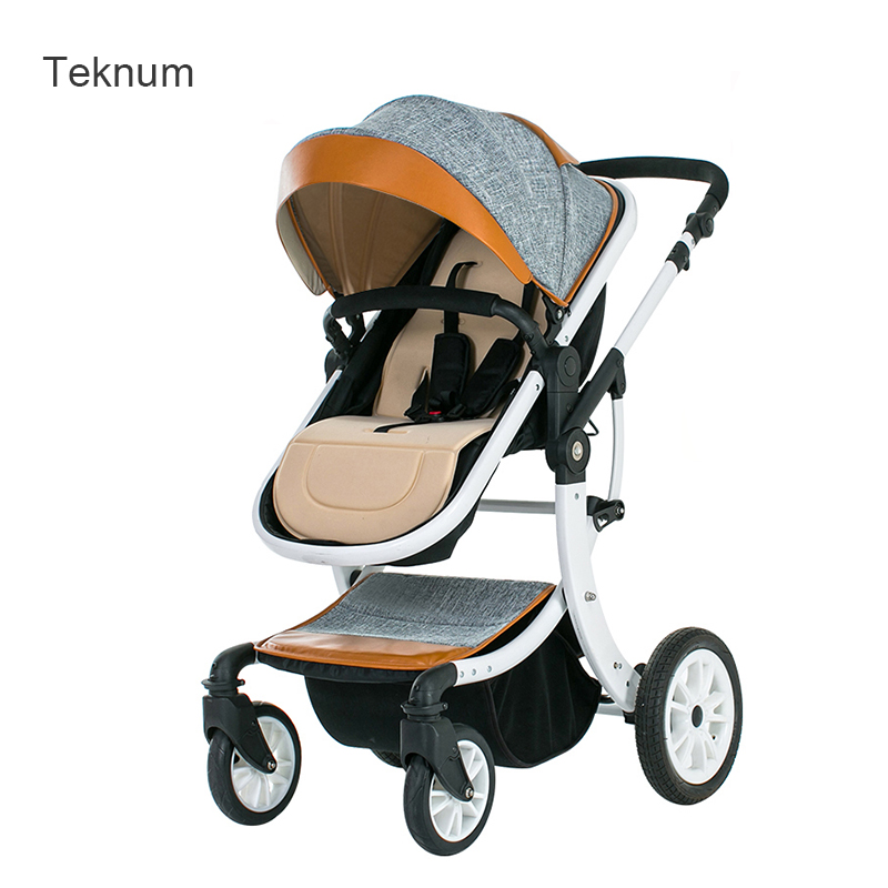 2017 Teknum baby stroller can sit flat high landscape fold baby baby summer light child trolley