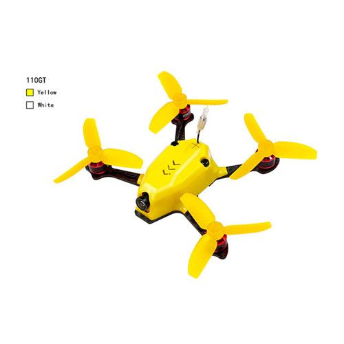 Kingkong 110GT 117mm FPV Racing Drone with F3 4in1 10A Blheli_S 25mW 16CH 800TVL FS-RX2A