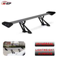 R EP Car Racing Spoiler Universal for Sedan Auto 135cm GT Aluminum Rear Trunk Wing Spoilers fit for Bmw for Honda for Mitsubishi