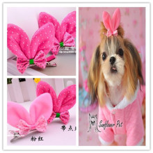 high quality rabbit headwear .small size hair clip ,little lace hairpins for girls,new arrival dog clips 30pcs/lot