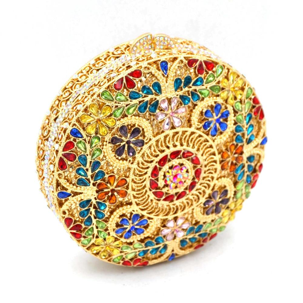 Sac Diamant Mariage Parti Ronde Soirée Bourse red Luxe Sc562 Forme Mode 1 Cristal D'embrayage pic silver De Blue qHXc4