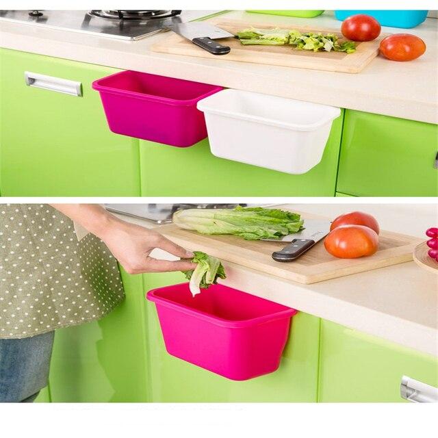 Hängen Stehend Küche Abfallbehälter Schranktür Wand Einfache ...