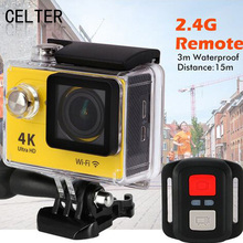 CELTA Video Cameras Wireless Wifi 1080p Ultra HD 4K Camera Motion H9R Remote Version Outdoor Waterproof Camera DV Limits Bicycle