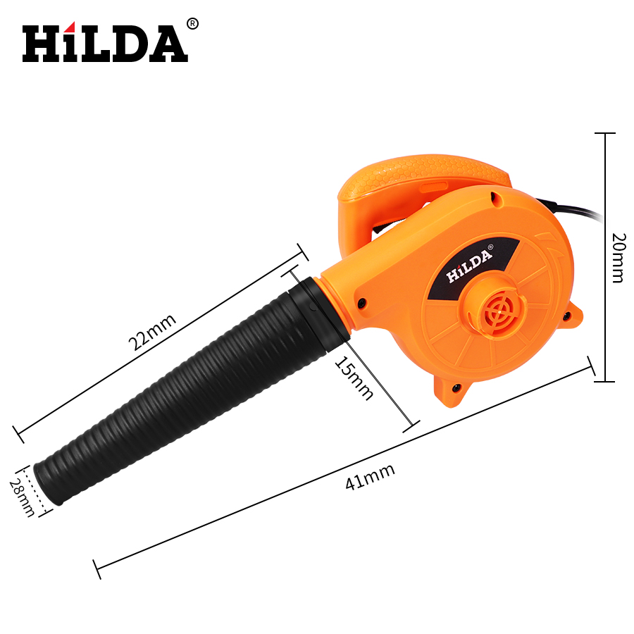 Image 2 - HILDA 600W  Air Blower Computer cleaner Electric air blower dust Blowing Dust  Computer Dust Collector blower-in Blowers from Tools on