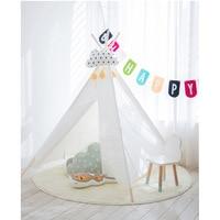 Двор чистый цвет детские детский домик для игр замок принцесса Игровая палатка для детей домашние игрушки Детский домик вигвам палатка бел