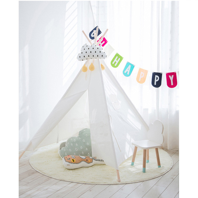 YARD Pure Color Baby Kids Playhouse Castle Princess Play Tent For Children Indoor Toys Playhouse Teepee Tent White/Blue/Pink  sc 1 st  AliExpress & YARD Pure Color Baby Kids Playhouse Castle Princess Play Tent For ...