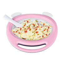 Ice machine ice cream fried Yogurt Machine Summer Household Mini Ice Rod Machine Fried Ice Cream Machine