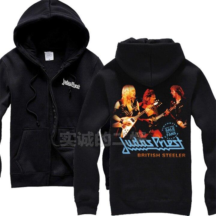 12 видов крутых клинок Judas Priest Rock черная толстовка с капюшоном в виде ракушки куртка Панк Череп Демон металлический свитшот на молнии Sudadera 3d принт - Цвет: 10